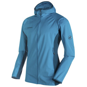 Mammut Kento Light SO Hooded Jacket Men atlantic-orion